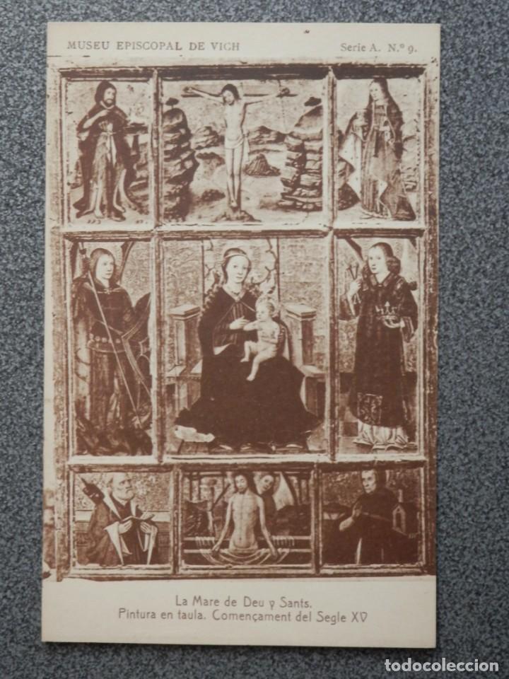 Postales: MUSEO EPISCOPAL DE VICH GIRONA LOTE DE 13 POSTALES ANTIGUAS - Foto 3 - 194903458