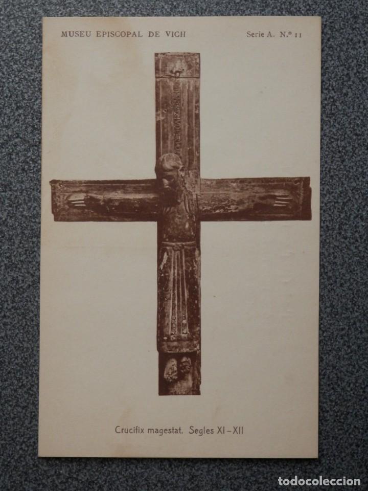 Postales: MUSEO EPISCOPAL DE VICH GIRONA LOTE DE 13 POSTALES ANTIGUAS - Foto 4 - 194903458
