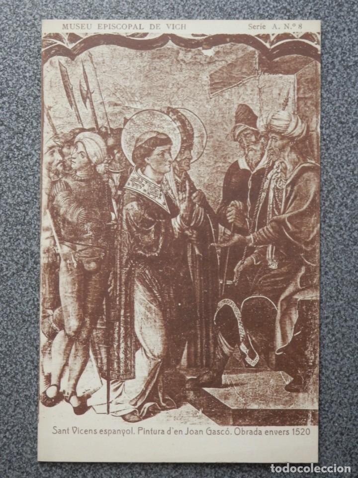Postales: MUSEO EPISCOPAL DE VICH GIRONA LOTE DE 13 POSTALES ANTIGUAS - Foto 5 - 194903458