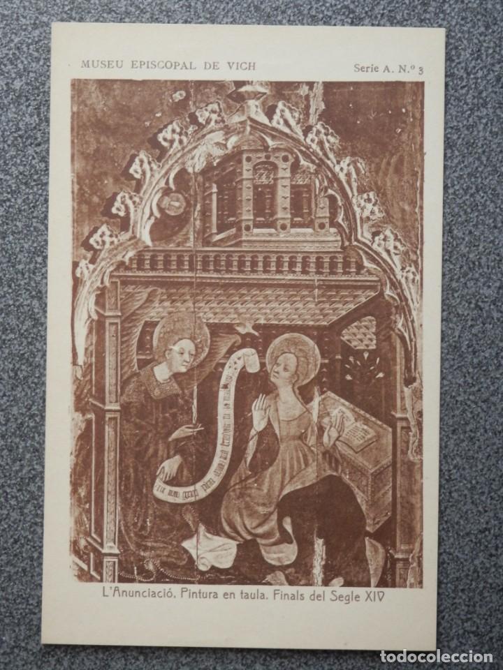 Postales: MUSEO EPISCOPAL DE VICH GIRONA LOTE DE 13 POSTALES ANTIGUAS - Foto 7 - 194903458