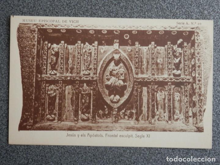 Postales: MUSEO EPISCOPAL DE VICH GIRONA LOTE DE 13 POSTALES ANTIGUAS - Foto 8 - 194903458