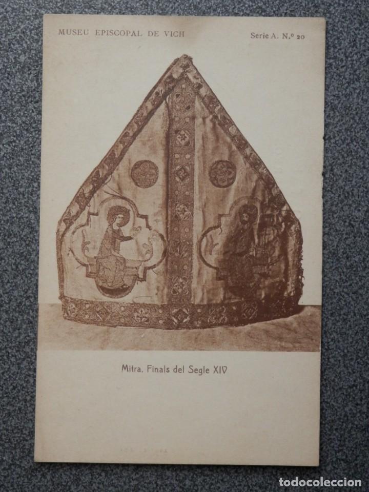Postales: MUSEO EPISCOPAL DE VICH GIRONA LOTE DE 13 POSTALES ANTIGUAS - Foto 9 - 194903458