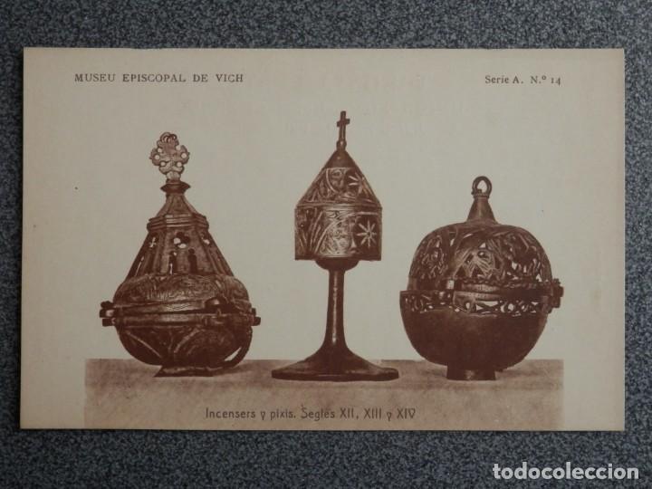 Postales: MUSEO EPISCOPAL DE VICH GIRONA LOTE DE 13 POSTALES ANTIGUAS - Foto 10 - 194903458