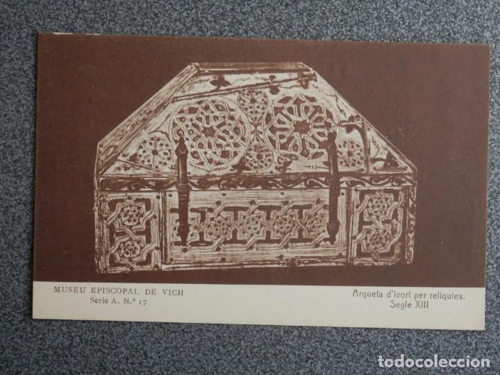 Postales: MUSEO EPISCOPAL DE VICH GIRONA LOTE DE 13 POSTALES ANTIGUAS - Foto 11 - 194903458