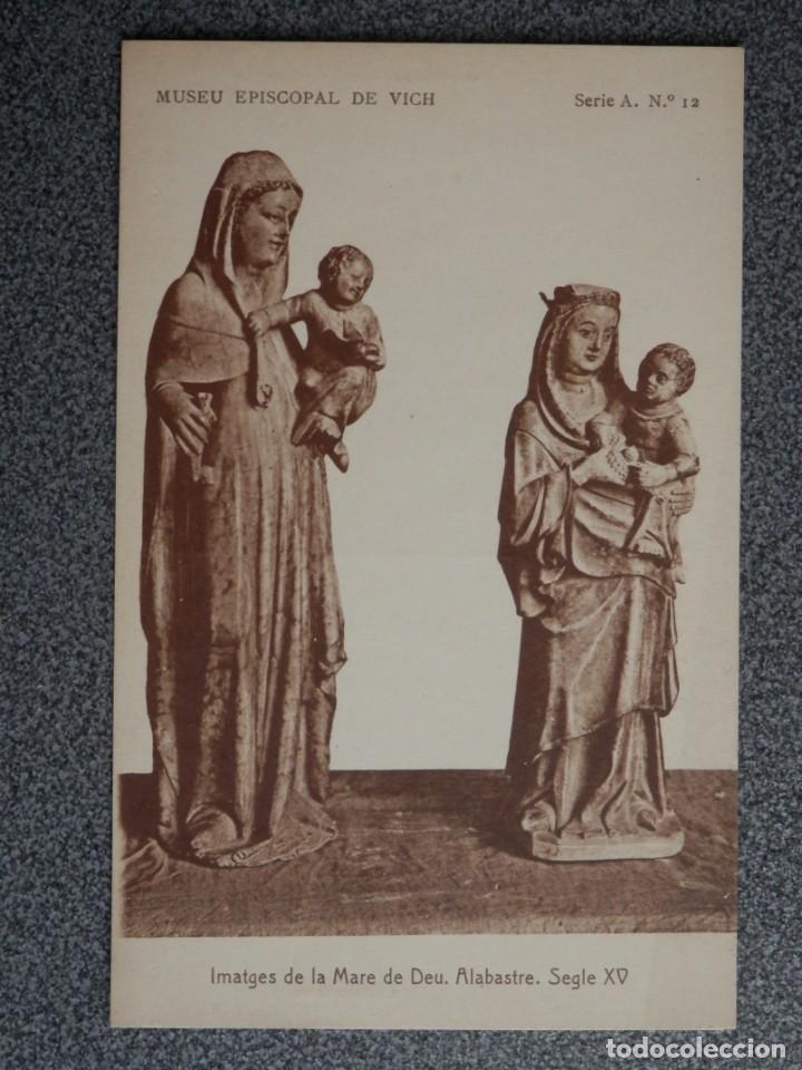Postales: MUSEO EPISCOPAL DE VICH GIRONA LOTE DE 13 POSTALES ANTIGUAS - Foto 13 - 194903458