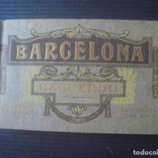 Postales: BARCELONA-RECUERDO-24 VISTAS ARTÍSTICAS. Lote 194944186