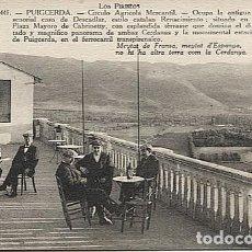 Postales: X123082 CATALUNYA GIRONA GERONA CERDANYA PUIGCERDA CIRCULO AGRICOLA MERCANTIL. Lote 194944450