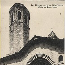 Postales: X123083 CATALUNYA GIRONA GERONA CERDANYA PUIGCERDA IGLESIA DE SANTA MARIA. Lote 194944502