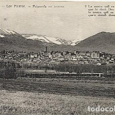 Postales: X123086 CATALUNYA GIRONA GERONA CERDANYA PUIGCERDA EN INVIERNO. Lote 194944675