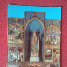 Postales: POSTAL POST CARD MANRESA BARCELONA SEU BASÍLICA RETAULE DEL SANTS MIQUEL I NICOLAU 1980 MONTAÑÁ...... Lote 194951275
