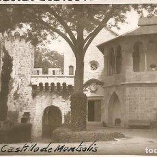 Postales: MONTSONIS-CASTILLO DE MONTSOLIS-LLEIDA. Lote 194954226