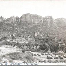 Postales: LA MORERA DEL MONTSANT-TARRAGONA-FOTOGRAFICA. Lote 194954381