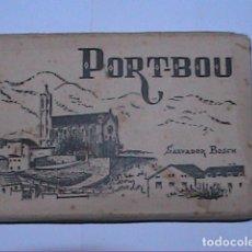 Postales: ALBUM DE 12 POSTALES ANTIGUAS DE PORTBOU EN ACORDEÓN.. Lote 194959211
