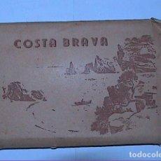 Postales: ÁLBUM DE 14 POSTALES ANTIGUAS DE TOSSA DE MAR. FOTOS A.CAMPAÑA Y J.PUIG - FERRAN.. Lote 194960686