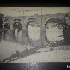 Postales: POSTAL RODA VICH PONT QUE UNEIX LA VILA. Lote 194964172