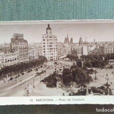 Postales: POSTAL BARCELONA - PLAZA DE CATALUÑA. Lote 194989456