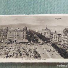 Postales: POSTAL BARCELONA PASEO DE GRACIA. Lote 194989480