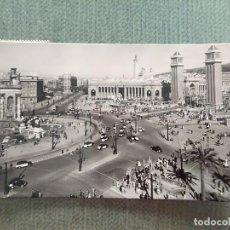 Postales: POSTAL BARCELONA PLAZA DE ESPAÑA Y EXPOSICION. Lote 194989692