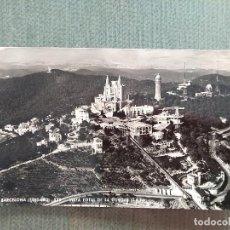 Postales: POSTAL BARCELONA TIBIDABO VISTA TOTAL DE LA CUMBRE. Lote 194989716