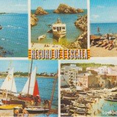 Postales: (16) L'ESCALA. COSTA BRAVA. GIRONA . Lote 195019727