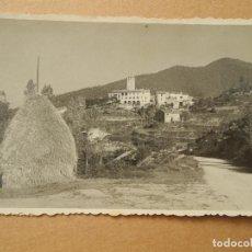 Postales: ESPINELVES. FOTOGRAFIA. PAJAR A LA ENTRADA DEL PUEBLO. SELLO DE FRANCO 50 CTS.. Lote 195020306