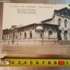Postales: POSTAL DE PUIGCERDÀ, CASINO CERETANO Nº429. LOS PIRINEOS. Lote 195030295