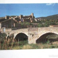 Postales: POSTAL TARRAGONA - MONTBLANC (CONCA DE BARBERA) - PONT VELL - 1997 - REQUESENS - SIN CIRCULAR. Lote 195034290