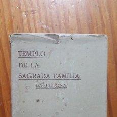 Postales: LOTE DE 8 POSTALES TEMPLO DE LA SAGRADA FAMILIA-BARCELONA. HEREDEROS VIUDA DE PLA.. Lote 195038488