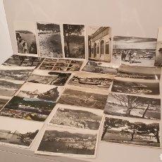 Postales: LOTE 25 POSTALES ORIGINALES DE LA COSTA BRAVA/ MIREN LAS FOTOGRAFÍAS. Lote 195048477