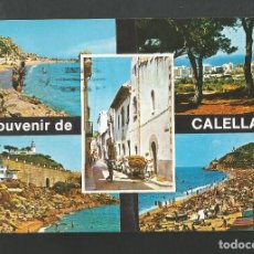 Postales: POSTAL CIRCULADA - CALELLA 109 - BARCELONA - VARIOS DETALLES - EDITA PLANCHERT. Lote 195065766