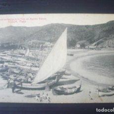 Postales: TOSSA-PLATJA. Lote 195068596