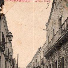 Postales: BARCELONA. HORTA. 12 CALLE SANTOTOMAS. ROISIN. Lote 195069437