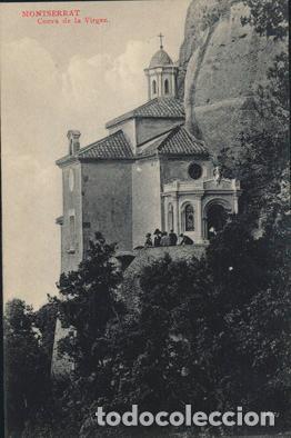 POSTAL DE MONTSERRAT CUEVA DE LA VIRGEN L. ROCA SERIE 4 Nº 42 (Postales - España - Cataluña Antigua (hasta 1939))