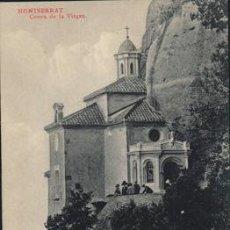 Postales: POSTAL DE MONTSERRAT CUEVA DE LA VIRGEN L. ROCA SERIE 4 Nº 42. Lote 195070015