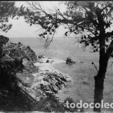 Postales: POSTAL DE CALELLA - 15 DETALLE DE LA COSTA - EDICIONES E.M.. Lote 195070226
