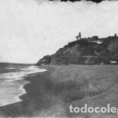 Postales: POSTAL DE CALELLA - 8 PLAYA Y FARO - EDICIONES E.M.. Lote 195070468