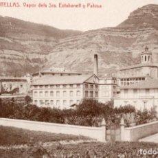 Postales: CENTELLAS. 3 VAPOR DELS SRS ESTABANELL Y PAHISA. ED. A. BOIX. Lote 195074192