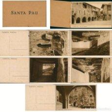 Postales: BLOC 6 POSTALS DE SANTA PAU , GARROTJA, GIRONA. Lote 195134708