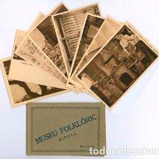 Postales: 10 POSTALS MUSEU FOLKLÒRIC RIPOLL. Lote 195134960