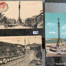 Postales: LOTE DE 3 POSTALES DE BARCELONA . Lote 195167208