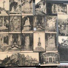 Postales: LOTE DE 21 POSTALES DE MONTSERRAT . Lote 195167633