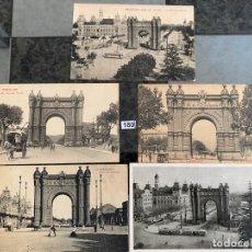 Postales: LOTE DE 5 POSTALES DE BARCELONA . Lote 195167736