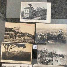 Postales: LOTE DE 7 POSTALES DE BARCELONA . Lote 195167946