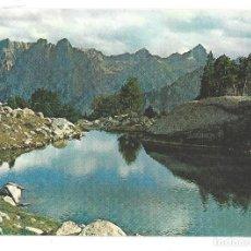 Postales: PIR. DE LÉRIDA. VALLE DE ESPOT.- Nº 5281, REGIÓN D'AMITGES. OF. TUR. POBLA DE SEGUR- SIN CIRCULAR. Lote 195216663