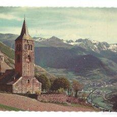 Postales: PIR. DE LÉRIDA. VALLE DE ARAN.- Nº 5003, IGLESIA DE VILACH. OF. TUR. POBLA DE SEGUR- SIN CIRCULAR. Lote 195217253