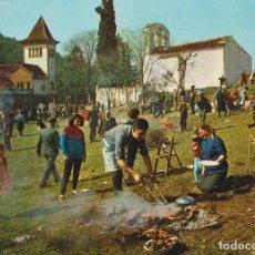 Postales: CATALUNYA TIPICA, APLEC, FESTA DE SANT MEDÍ - ESCUDO DE ORO Nº 1266 - EDITADA EN 1964 - S/C. Lote 195224692