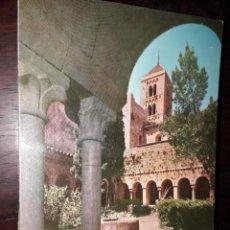 Postales: Nº 36145 POSTAL MONASTERIO DE SANTA MARIA DE VILABERTRAN GERONA CLAUSTRO Y TORRE. Lote 195235627
