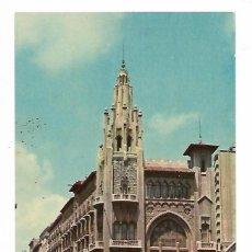 Postales: POSTAL - VIA LAYETANA - OFICINAS CENTRALES DE LA CAIXA - CAJA DE PENSIONES PARA LA VEJEZ Y DE AHORRO. Lote 195240290