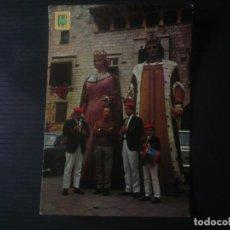 Postales: VILAFRANCA DEL PENEDÈS-ELS GEGANTS. Lote 195251291
