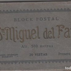 Postales: BLOC CON 20 POSTALES DE SAN MIGUEL DEL FAI - PRIMERA SERIE DE L. ROISIN (VER IMAGENES). Lote 195261805
